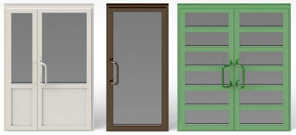 входные двери пвх одностворчатые двухстворчатые прайсы